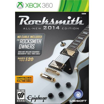 Rocksmith 2014 - All-New Edition - No Cable Included - X360