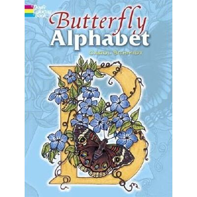 Butterfly Alphabet Coloring Book