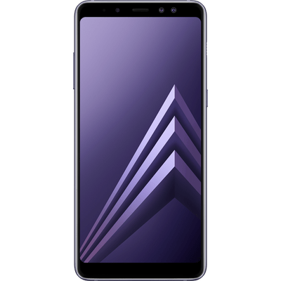 "Smartphone Samsung Galaxy A8+ Ametista, Android Nougat 7.1, Tela 6"", Dual Câm Frontal 16Mp+8Mp, 64Gb"