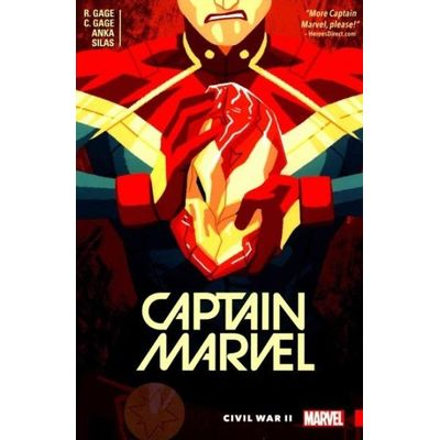 Captain Marvel - Captain Marvel, Volume 2 - Civil War II