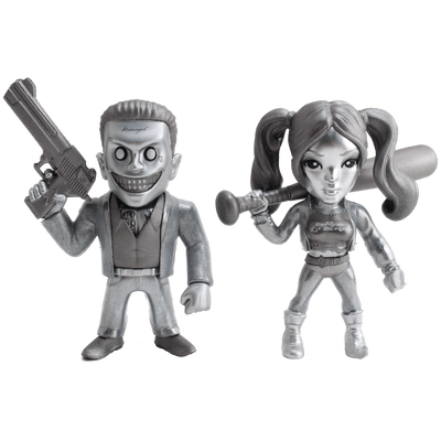 "Usado - Metals Figure Suicide Squad 4"" - Twin Pack"