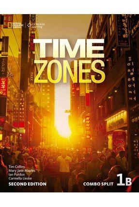Time Zones 1B - Combo Split + Online Workbook - Second Edition - Tim Collins Ian Purdon Nicholas Beare | Nisrs.org
