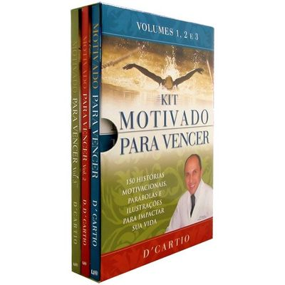 Kit Motivado Para Vencer - Vol. 1, 2 e 3