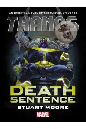 Thanos - Death Sentence Prose Novel - Marvel Comics   Hoshan.org