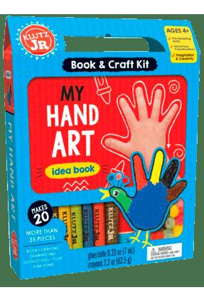 My Hand Art: Book & Craft Kit - Klutz,Editors Of   Hoshan.org