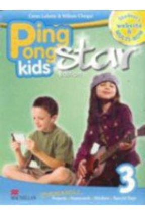 Ping Pong Kids Star 3 - Ed.Student's Book WITH Multi-Rom + Web Code - Macmillan | Tagrny.org