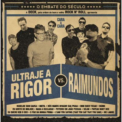 Ultraje A Rigor Vs. Raimundos - Digifile