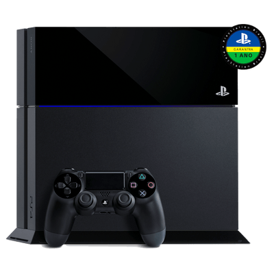 Reembalado - Console Playstation 4 - HD 500Gb + Dualshock 4 - Oficial Sony Brasil - PS4