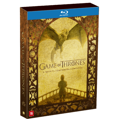 Blu-Ray Game Of Thrones - 5ª Temporada - 5 Discos
