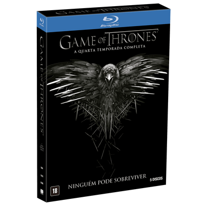 Blu-ray Game Of Thrones - 4ª Temporada - 5 Discos