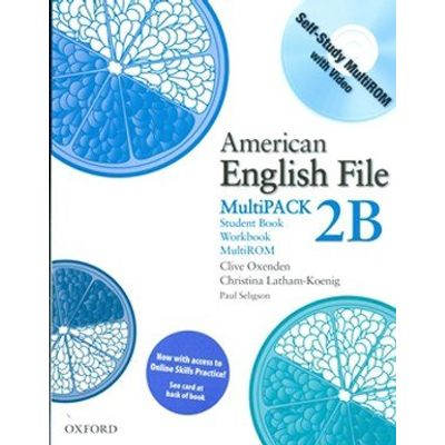 American English File 2 Multipack B W Access Code Cards