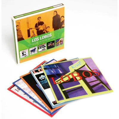 Los Lobos - Original Album Series - Box Com 5 CDs