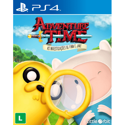Adventure Time - As Investigações de Finn e Jake - PS4