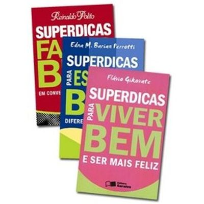 Kit Superdicas - 3 Volumes