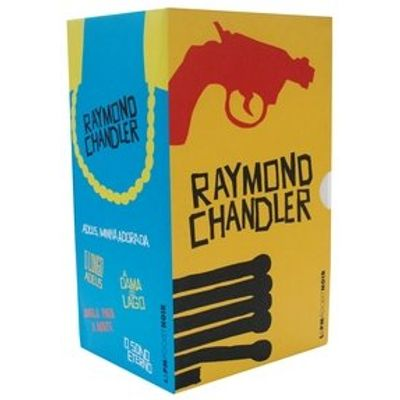 Caixa L&pm Pocket - Raymond Chandler - 5 Volumes