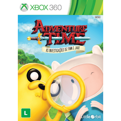 Adventure Time - As Investigações de Finn e Jake - Xbox 360