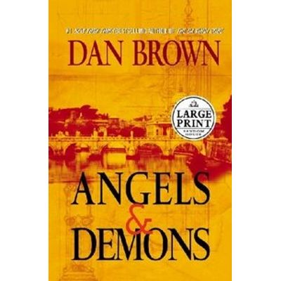 Angels And Demons - Large Print Movie Tie-in