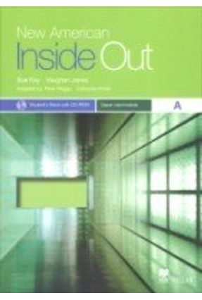 New American Inside Out Upper Intermediate A - Student's Book With CDRom - Macmillan   Hoshan.org