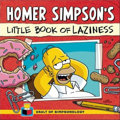 Homer Simpson's - Little Book Of Laziness