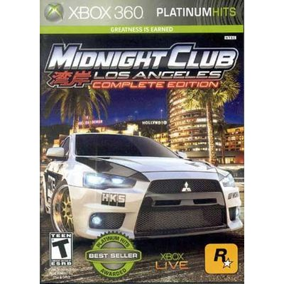 Midnight Club Los Angeles Complete Edition - X360