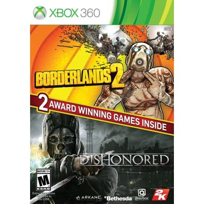 Borderlands 2 & Dishonored Bundle - X360
