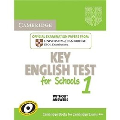 Cambridge Key English Test For Schools 1 - Student's Book Without Answers