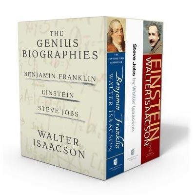 Walter Isaacson: The Genius Biographies - Benjamin Franklin, Einstein, And Steve Jobs