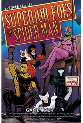The Superior Foes Of Spider-Man Vol.3 - Game Over - Spencer,Nick   Hoshan.org