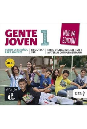 Gente Joven 1 - Biblioteca USB - Nueva Edición - Encina Alonso pdf epub