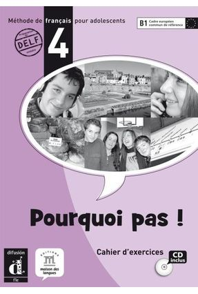 Pourquoi Pas ! 4 Cahier D'exercices + CD Audio - Marie Bretonnier | Tagrny.org