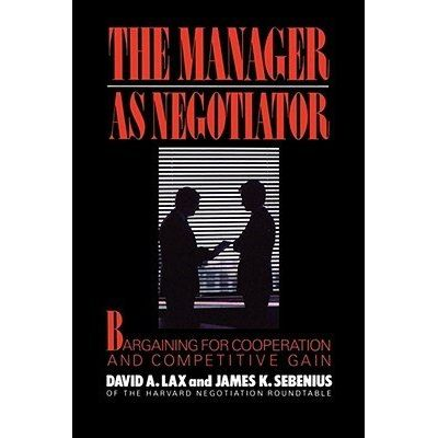 Manager As Negotiator