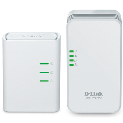 Kit Repetidor D-Link Powerline Dhp-W311av N 300Mbps Av500n