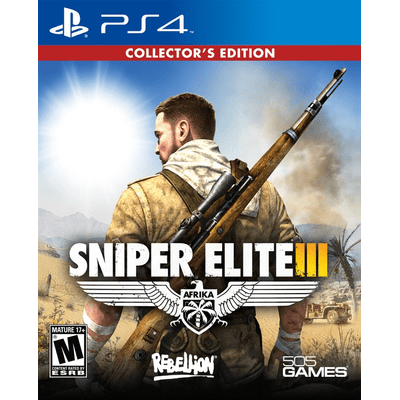 Sniper Elite 3 - Collectors Edition - PS4
