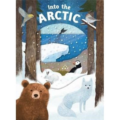 Look Closer: Into The Arctic - [With Transparent Pages]