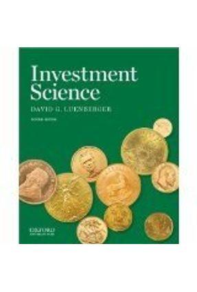 Investment Science - Luenberger,David G. pdf epub