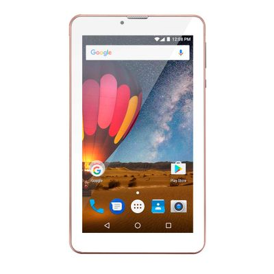 Tablet Multilaser M7 3G Plus Quad Core 1Gb Ram Câmera Tela 7 Memoria 8Gb Dual Chip Rosa - NB271