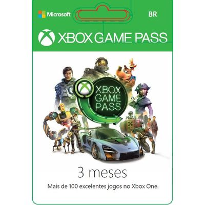 Brazil Xbox Game Pass 3 Meses Ddp R$ 87,00 - Online