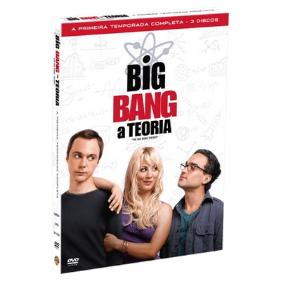 DVD Big Bang: A Teoria - 1ª Temporada - 3 Discos