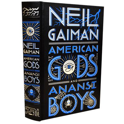 American Gods And Anansi Boys - Leather-Bound Edition