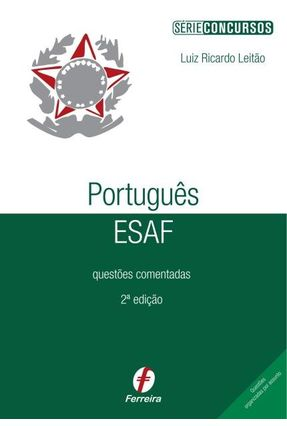 Portugues Esaf Questoes Comentadas Serie Concursos 2ª Ed
