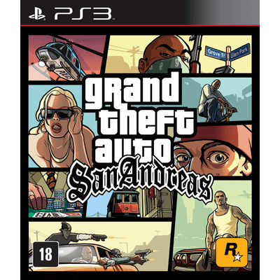 Grand Theft Auto - San Andreas - PS3