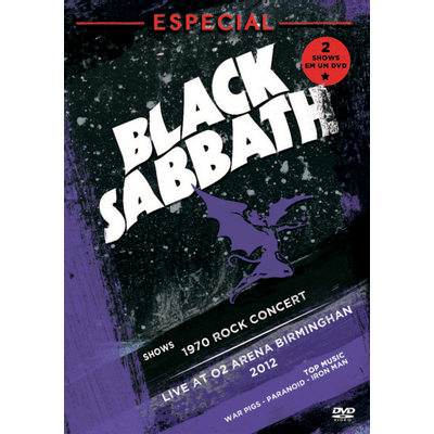 Black Sabbath Especial - DVD