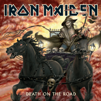Iron Maiden - Death On The Road - 2 CDs