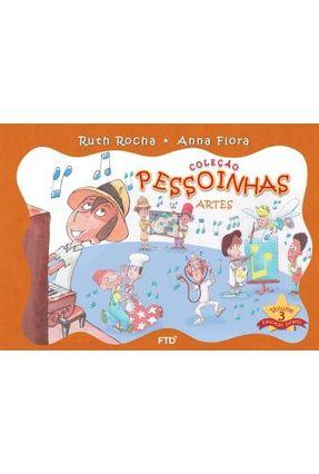 Pessoinhas - Arte - Vol. 3 - Rocha,Ruth Flora,Anna   Nisrs.org