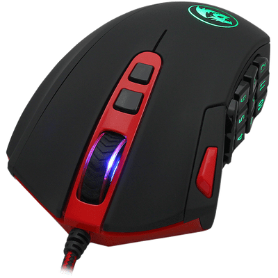 Mouse Gamer Redragon Perdition Rgb 16.400 Dpi M901