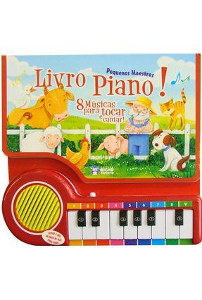Livro Piano - Pequenos Maestros