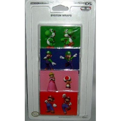 Adesivos Decorativos Faceplate Licensed Nintendo - Nds