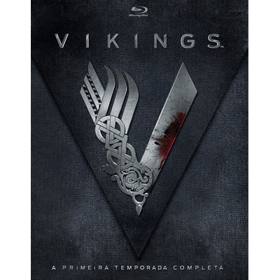 Blu-ray Vikings - 1ª Temporada - 3 Discos