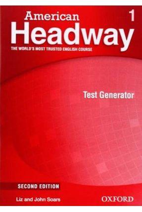 American Headway - Level 1 - Test Generator + CD-ROM - 2ª Ed. - Editora Oxford | Nisrs.org
