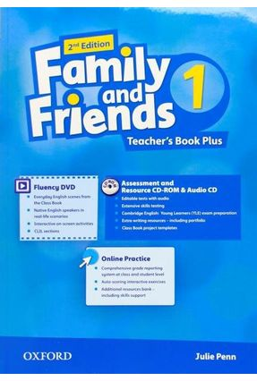 Family And Friends - Level 1 - Teachers Book Pack - Second Edition - Julie Penn | Nisrs.org